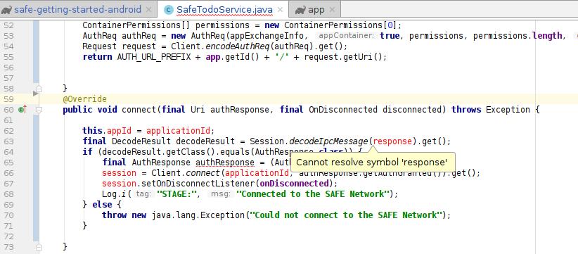 Release of Android platform development (Java API) - API - SAFE Dev